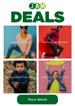 JAM Clothing offers in the JAM Clothing catalogue ( 1 day ago)