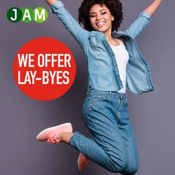 JAM Clothing offers in the JAM Clothing catalogue ( Published today)