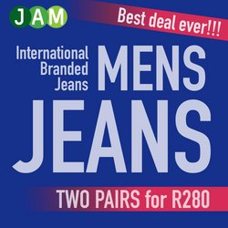 Clothes, Shoes & Accessories offers in the JAM Clothing catalogue ( Expires tomorrow)