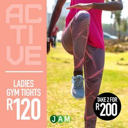 Clothes, Shoes & Accessories offers in the JAM Clothing catalogue ( 2 days left)
