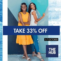 Clothes, Shoes & Accessories offers in the The Hub catalogue ( Expires tomorrow)