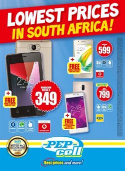 Clothes, shoes & accessories offers in the PEP catalogue in Randburg