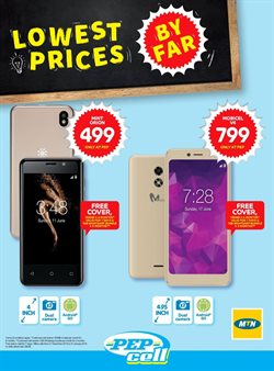 Smartphones offers in the PEP catalogue in Sandton
