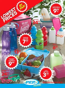 Clothes, shoes & accessories offers in the PEP catalogue in Rustenburg