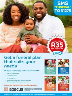 Sales offers in the PEP catalogue in Cape Town