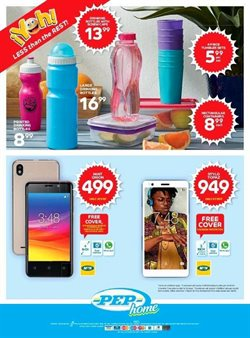 Smartphones offers in the PEP catalogue in Soweto
