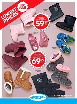 Clothes, shoes & accessories offers in the PEP catalogue in Pietermaritzburg