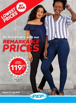 Clothes, Shoes & Accessories offers in the PEP catalogue in Cape Town