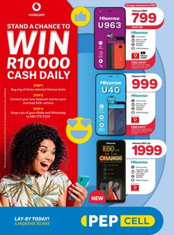 Clothes, Shoes & Accessories offers in the PEP catalogue in Durban ( 2 days left )