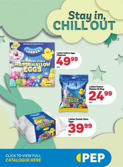 Easter eggs offers in the PEP catalogue ( Published today)