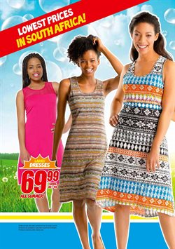 Dress offers in the PEP catalogue in Cape Town