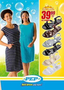 Sandals offers in the PEP catalogue in Cape Town