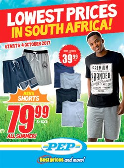 Klerksdorp City Mall offers in the PEP catalogue in Klerksdorp