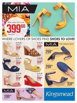 Kingsmead Shoes deals in the Port Elizabeth special