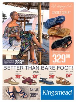 Kingsmead Shoes deals in the Durban special