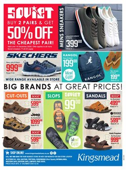 Kingsmead Shoes offers in the Kingsmead Shoes catalogue ( Expired)
