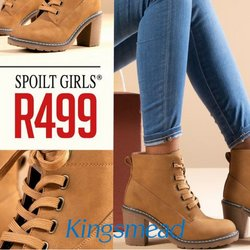 Kingsmead Shoes offers in the Kingsmead Shoes catalogue ( 17 days left)