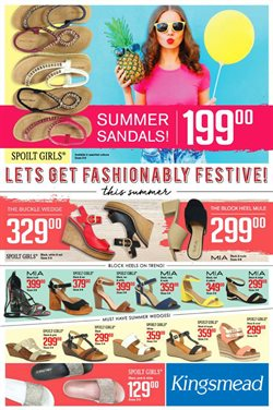 Kingsmead Shoes deals in the George special