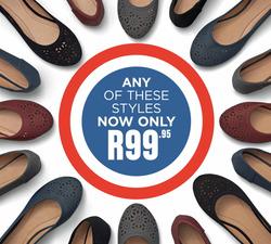 Shoe City deals in the Port Elizabeth special