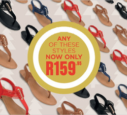 Shoe City deals in the Johannesburg special