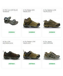 Sandals offers in the Tekkie Town catalogue in Cape Town
