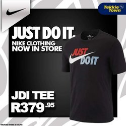 Clothes, Shoes & Accessories offers in the Tekkie Town catalogue ( 1 day ago)