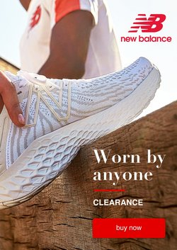 New Balance offers in the New Balance catalogue ( 25 days left)