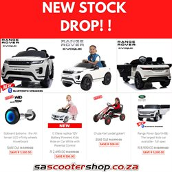 Cars, Motorcycles & Spares offers in the SA Scooter Shop catalogue in Port Elizabeth ( 2 days left )