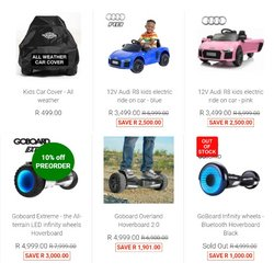 Audi offers in the SA Scooter Shop catalogue ( 9 days left)