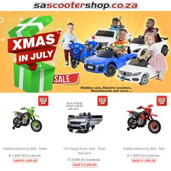 SA Scooter Shop offers in the SA Scooter Shop catalogue ( 6 days left)