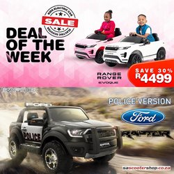 Babies, Kids & Toys offers in the SA Scooter Shop catalogue ( 5 days left)