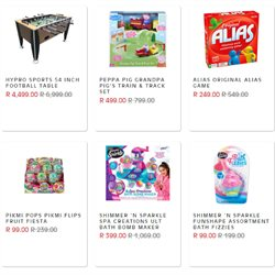 Games specials in The Kid Zone