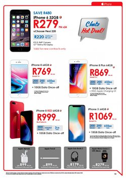 IPhone 8 offers in the Chatz Connect catalogue in Cape Town