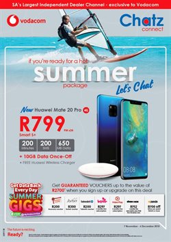 Electricals & Home Appliances offers in the Chatz Connect catalogue in East London