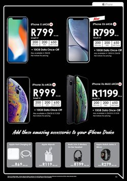 IPhone offers in the Chatz Connect catalogue in Randburg