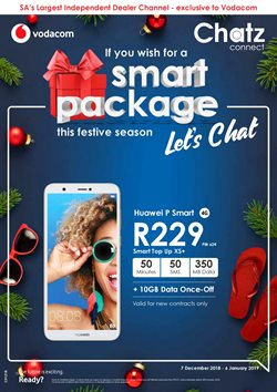 Electricals & Home Appliances offers in the Chatz Connect catalogue in Cape Town