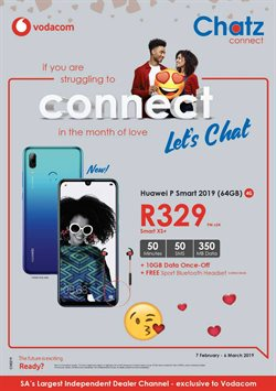 Chatz Connect deals in the Johannesburg special