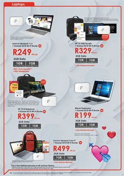 Laptop offers in the Chatz Connect catalogue in Cape Town