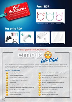 Chargers offers in the Chatz Connect catalogue in Cape Town