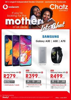 Electronics & Home Appliances offers in the Chatz Connect catalogue in Cape Town