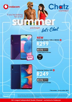 Chatz Connect deals in the Midrand special