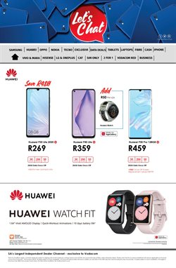 Huawei P30 specials in Chatz Connect