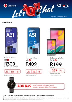 Electronics & Home Appliances offers in the Chatz Connect catalogue in Cape Town ( 22 days left )