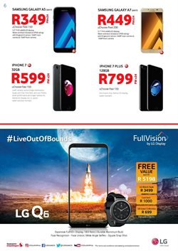 Iphone 7 offers in the Chatz Connect catalogue in Cape Town