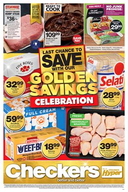 Checkers deals in the Johannesburg special