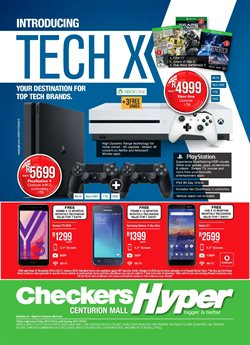 Smartphones offers in the Checkers catalogue in Sandton