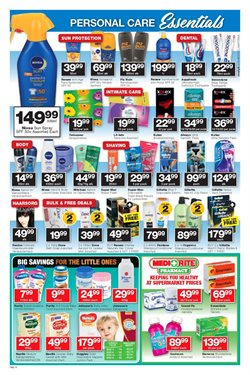 Shampoo offers in the Checkers catalogue in Cape Town