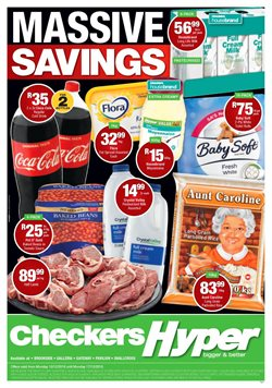 Checkers deals in the Phoenix special