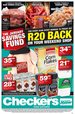 Juice offers in the Checkers catalogue in Klerksdorp