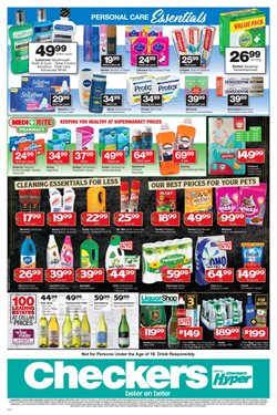Soap offers in the Checkers catalogue in Cape Town
